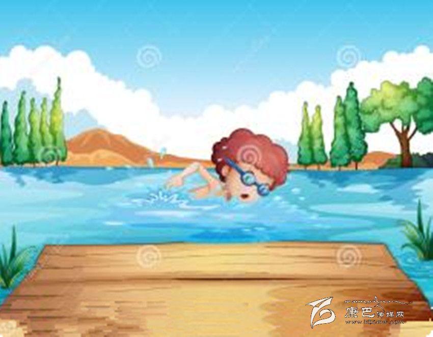 游泳图片大全卡通图片