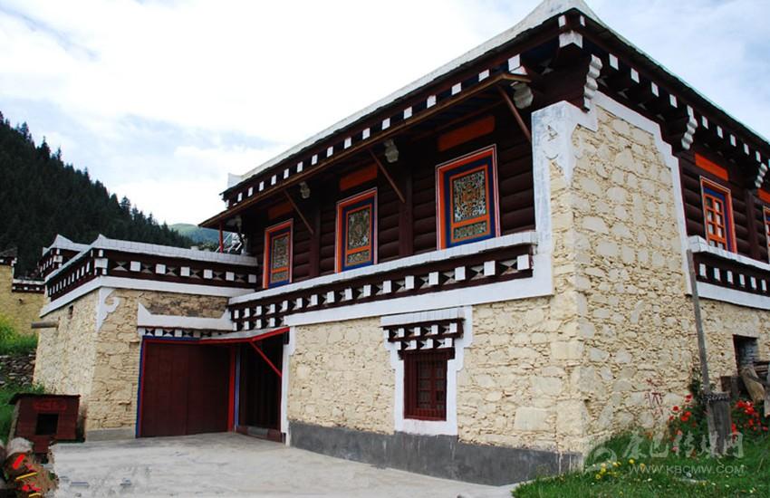 藏族房子设计图