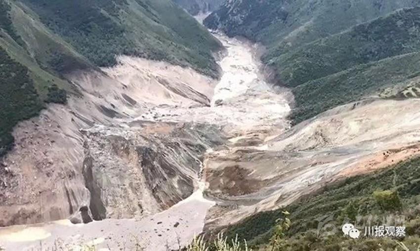 追踪|金沙江白格堰塞湖蓄水已近1亿立方米!甘孜州转移